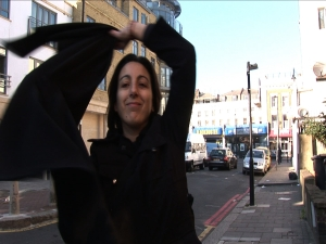 The veil has been blamed for lots of things, from being a symbol of modesty to being oppressive. This film seeks to inject a little humour into the debate. Six women from different backgrounds aged from 18-61 yrs try on the veil. They record their experiences, their own attitudes and those of others towards them.